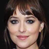 Dakota Johnson Armani Awards Makeup