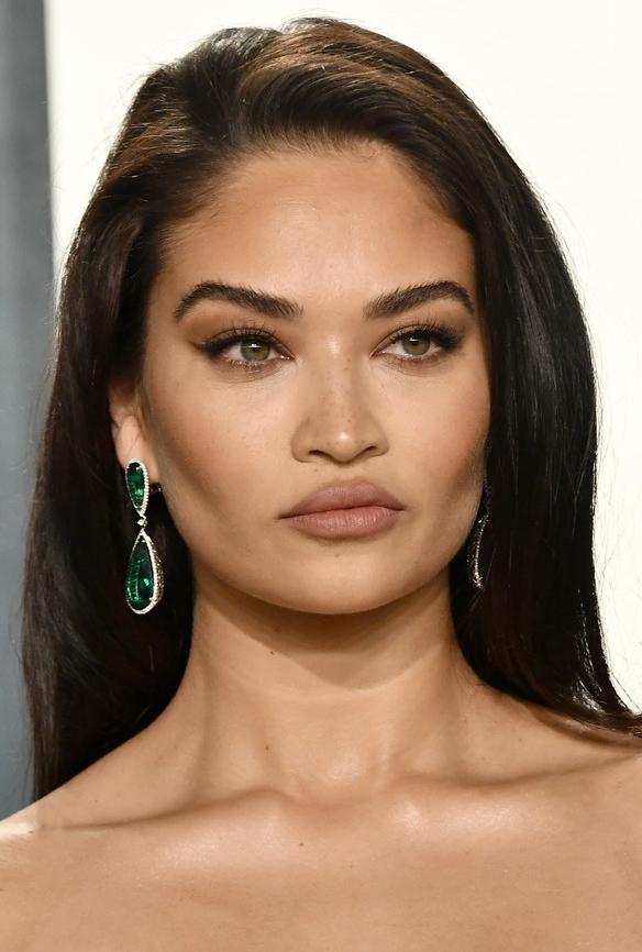 shanina-shaik-2020-oscars-makeup-lips
